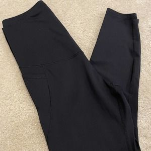Old Navy Powdersoft Maternity Ankle Leggings Large